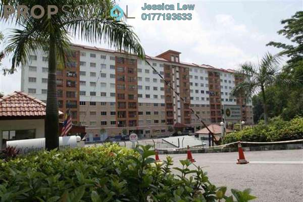 Apartment For Rent in D'Cahaya Apartment, Bandar Puchong Jaya Freehold Unfurnished 3R/2B 1k