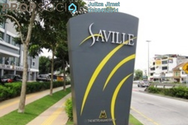 Serviced Residence For Sale in Saville Residence, Old Klang Road Freehold Fully Furnished 3R/3B 700k