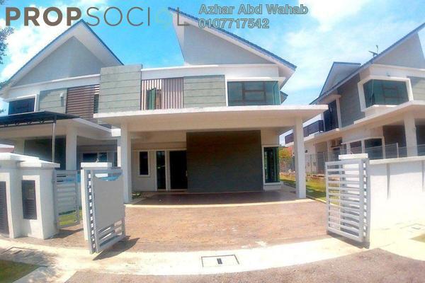 For Sale Semi-Detached at Cempaka Puri Twin Villas, Kota Seriemas Freehold Unfurnished 5R/5B 840k