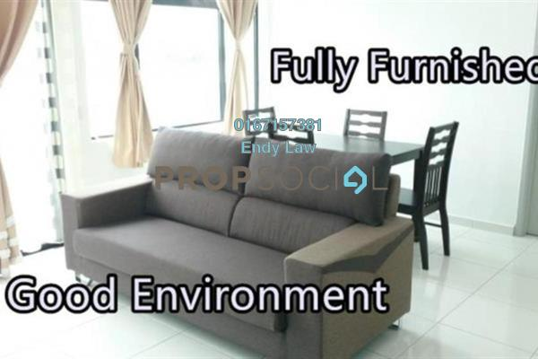 Condominium For Rent in Sky Suites @ Meldrum Hills, Johor Bahru Freehold fully_furnished 1R/1B 1.6k