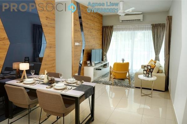 Condominium For Sale in Razak City Residences, Sungai Besi Freehold Semi Furnished 3R/2B 439k
