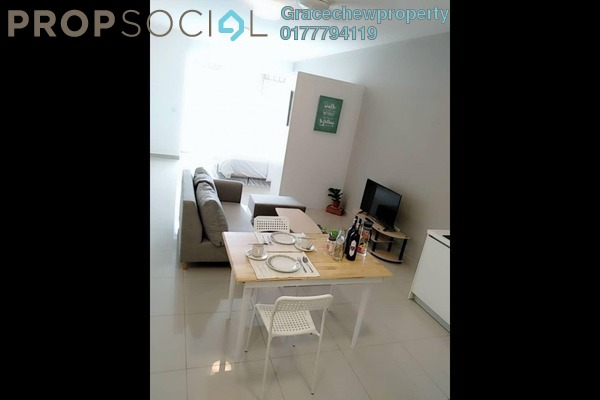 Serviced Residence For Rent in Twin Galaxy, Johor Bahru Freehold Fully Furnished 0R/1B 1.58k