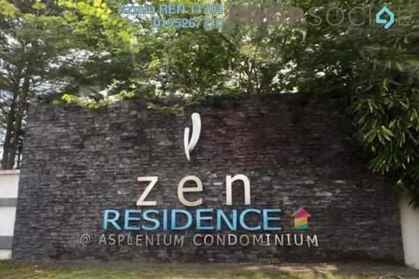 For Sale Condominium at Zen Residence, Puchong Leasehold Semi Furnished 3R/2B 510k