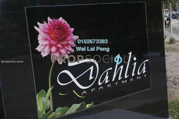 Duplex For Sale in Dahlia Apartment, Pandan Indah Freehold Semi Furnished 3R/2B 290k