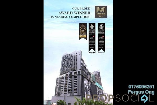 Condominium For Sale in Imperio Residences, Melaka Freehold Unfurnished 1R/1B 350k