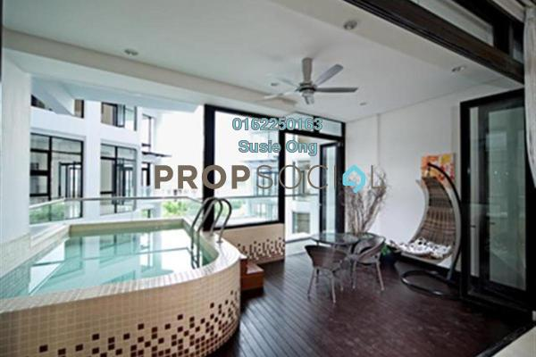 Condominium For Rent in Gallery U-Thant, Ampang Hilir Freehold Semi Furnished 3R/5B 12.5k