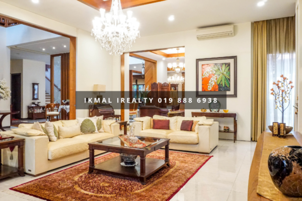 Bungalow For Sale in Damansara Idaman, Tropicana Freehold Unfurnished 6R/6B 5.8m