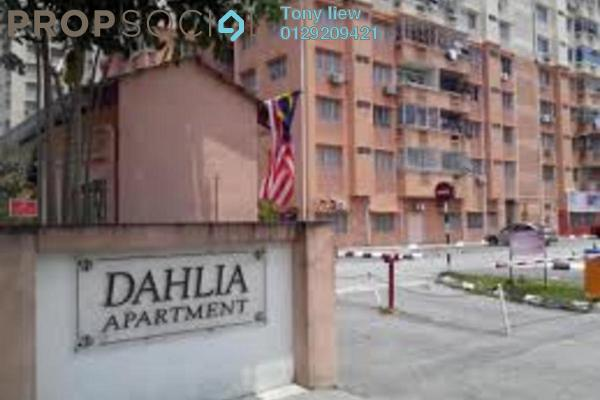 Duplex For Sale in Dahlia Apartment, Pandan Indah Freehold Fully Furnished 3R/2B 280k