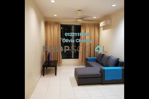 Apartment For Rent in Casa Tiara, Subang Jaya Freehold Fully Furnished 3R/2B 1.9k