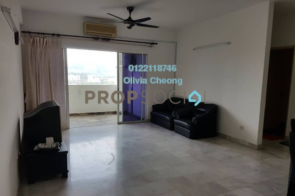 Apartment For Rent in Seri Puri, Kepong Freehold Semi Furnished 3R/2B 1.2k