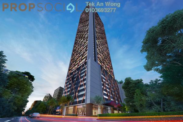 SoHo/Studio For Sale in Scarletz Suites, KLCC Freehold Fully Furnished 2R/2B 900k