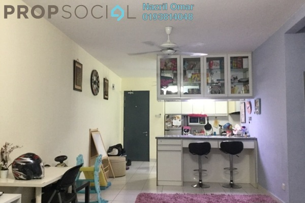 Serviced Residence For Sale in Metia Residence, Shah Alam Freehold Semi Furnished 3R/2B 470k