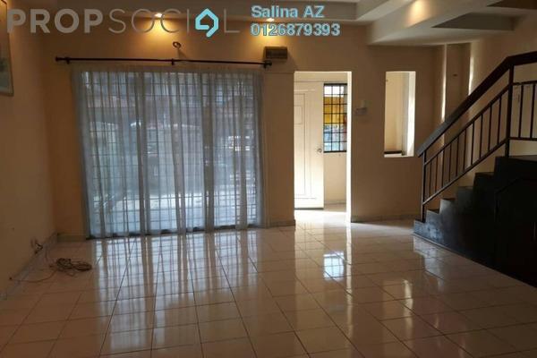 Terrace For Rent in Taman Puncak Jalil, Bandar Putra Permai Freehold Semi Furnished 4R/3B 1.2k