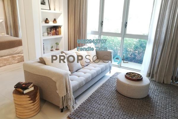 Condominium For Sale in Cantara Residences, Ara Damansara Freehold Semi Furnished 1R/1B 530k