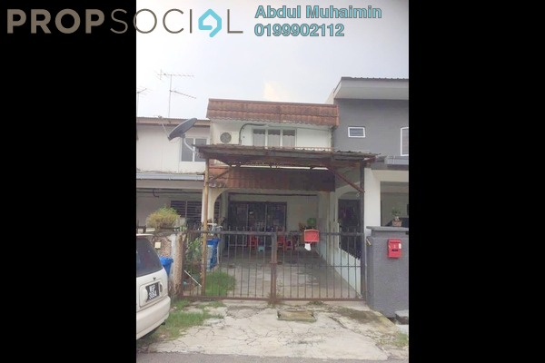 Terrace For Sale in Kampung Melayu Subang, Subang Freehold Unfurnished 4R/2B 310k