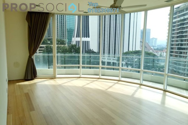 Condominium For Rent in The Oval, KLCC Freehold Semi Furnished 4R/5B 11k