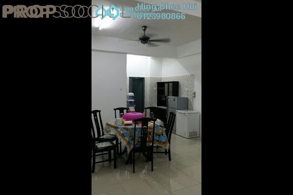 Condominium For Rent in Mahkota Garden Condominium, Bandar Mahkota Cheras Freehold fully_furnished 4R/3B 1.6k