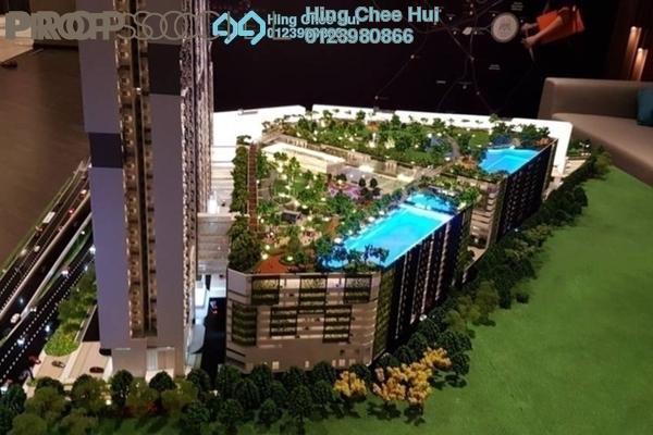 Condominium For Sale in M Vertica, Cheras Freehold semi_furnished 3R/2B 455k