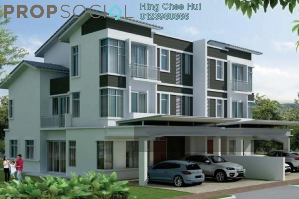 Semi-Detached For Sale in Tropicana Cheras, Kajang Freehold semi_furnished 7R/7B 1.35m