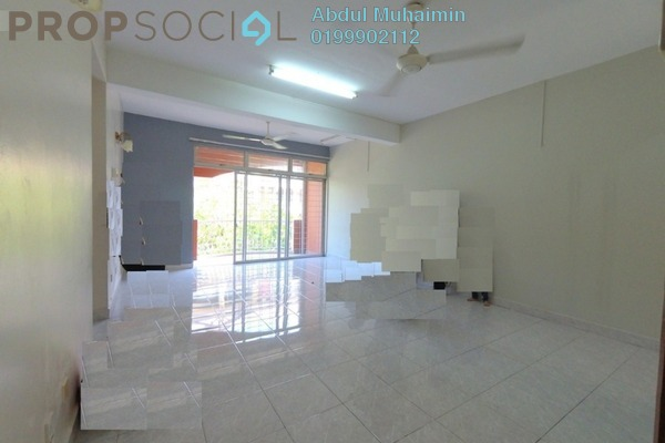 Apartment For Rent in Intan Apartment, Setiawangsa Freehold Semi Furnished 3R/2B 1.5k