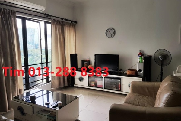 Condominium For Sale in Desa Permai, Taman Desa Freehold Fully Furnished 3R/2B 680k