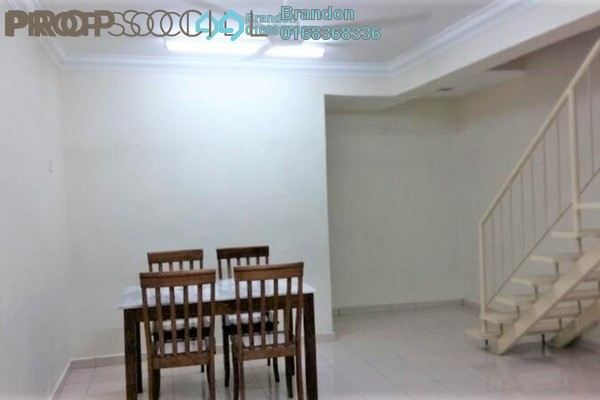 Terrace For Sale in Desa Setapak, Setapak Freehold Semi Furnished 3R/3B 450k