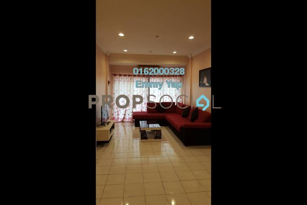 Condominium For Sale in Evergreen Park, Bandar Sungai Long Freehold Fully Furnished 3R/2B 395k