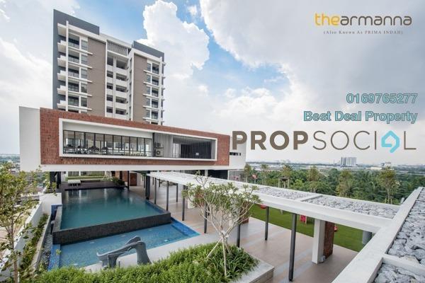 Condominium For Rent in The Armanna @ Kemuning Prima, Kemuning Utama Freehold Fully Furnished 3R/2B 1.88k