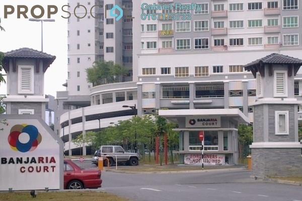 For Rent Apartment at Banjaria Court, Batu Caves Freehold Semi Furnished 3R/2B 1.3k