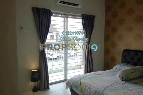 Townhouse For Rent in The Lake Residence, Puchong Freehold Semi Furnished 3R/2B 1.2k