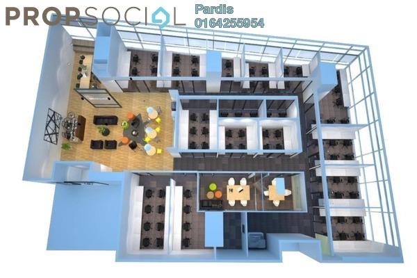For Rent Office at Q Sentral, KL Sentral Freehold Fully Furnished 0R/0B 4.5k