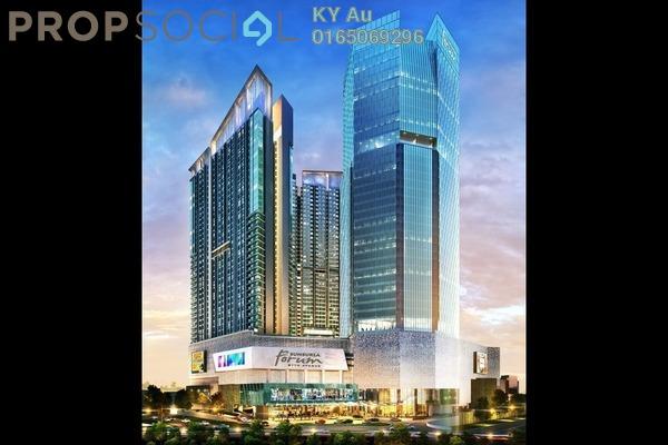 SoHo/Studio For Sale in Sunsuria 7th Avenue, Setia Alam Leasehold Unfurnished 1R/1B 298k