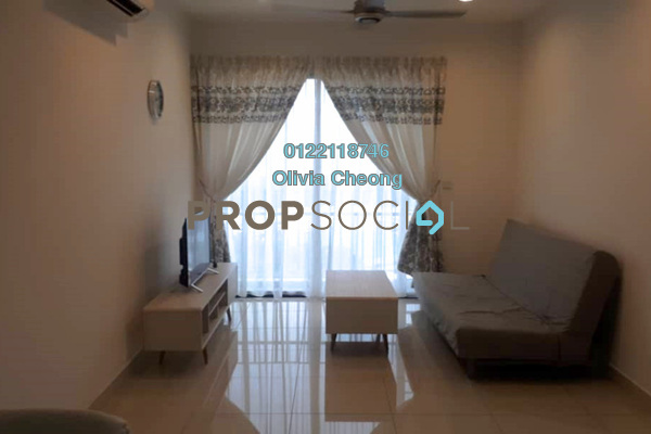 Serviced Residence For Rent in TRiGON Luxury Residences @ Setia Walk, Pusat Bandar Puchong Freehold Fully Furnished 2R/2B 2.6k