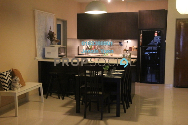 Condominium For Sale in Symphony Heights, Selayang Freehold Fully Furnished 4R/3B 480k
