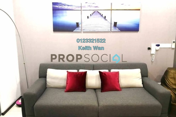 Condominium For Sale in The Breezeway, Desa ParkCity Freehold Semi Furnished 3R/2B 1.58m