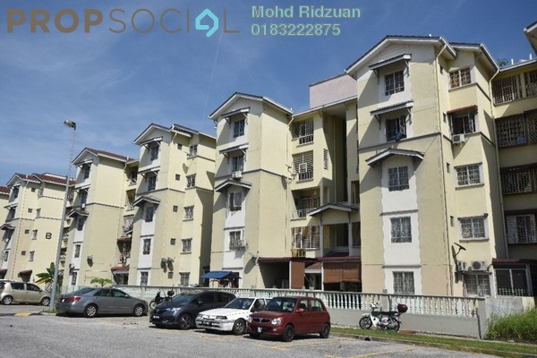 Apartment For Sale in Kasuarina Apartment, Klang Freehold Semi Furnished 3R/2B 260k
