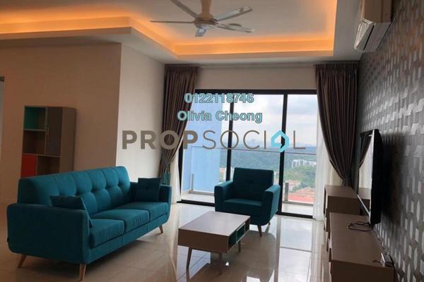 Condominium For Rent in Sky Condominium, Bandar Puchong Jaya Freehold Fully Furnished 3R/4B 3.8k