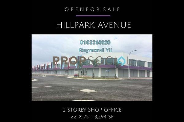 Shop For Sale in Bandar Puncak Alam, Kuala Selangor Freehold Unfurnished 0R/4B 775k