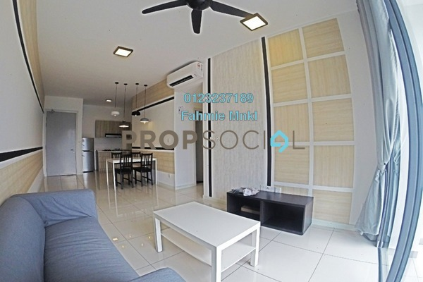 Condominium For Rent in Casa Green, Bukit Jalil Freehold fully_furnished 3R/3B 2.1k