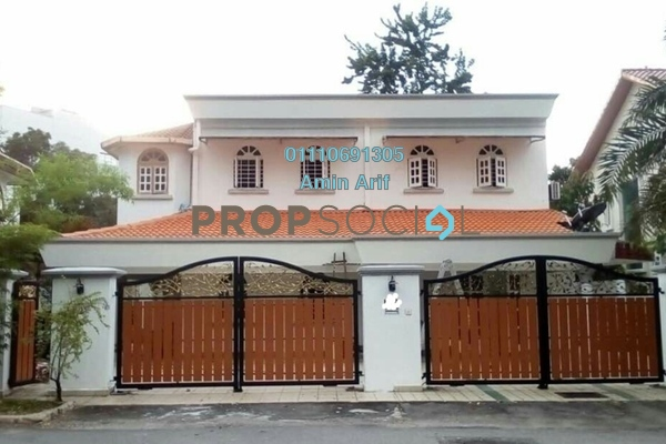 Bungalow For Sale in Taman Sri Bahtera, Cheras Freehold Semi Furnished 7R/6B 2.4m