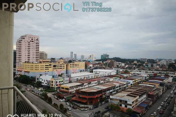 Apartment For Rent in Bandar Hilir, Melaka Freehold Semi Furnished 2R/2B 1k