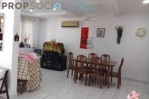 Terrace For Rent in Taman Pantai Emas, Klebang Freehold Fully Furnished 4R/3B 1.4k
