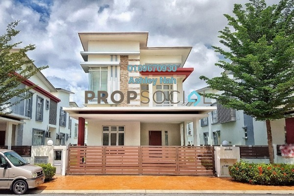 Bungalow For Rent in CasaIdaman, Setia Alam Freehold Semi Furnished 6R/6B 2.7k