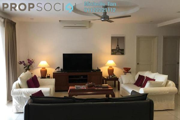Condominium For Sale in Kiaramas Cendana, Mont Kiara Freehold Semi Furnished 4R/3B 1.32m
