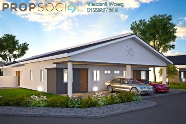 Semi-Detached For Sale in Bandar Baru Setia Awan Perdana, Perak Freehold Unfurnished 3R/2B 178k