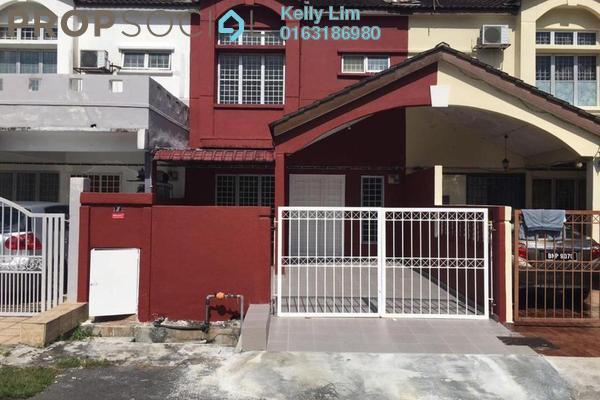 Terrace For Sale in Section 6, Bandar Mahkota Cheras Freehold Semi Furnished 4R/3B 470k