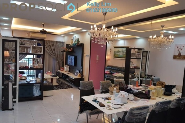 Condominium For Sale in Connaught Avenue, Cheras Freehold Fully Furnished 3R/2B 430k