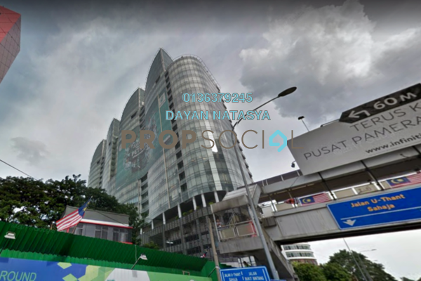 For Rent Office at The Icon, KLCC Freehold Semi Furnished 1R/1B 12.4k