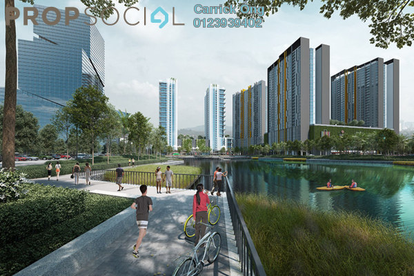 Condominium For Sale in Gravit8, Klang Freehold Fully Furnished 2R/2B 340k