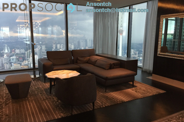 Condominium For Sale in Four Seasons Place, KLCC Freehold Unfurnished 3R/3B 7.85m
